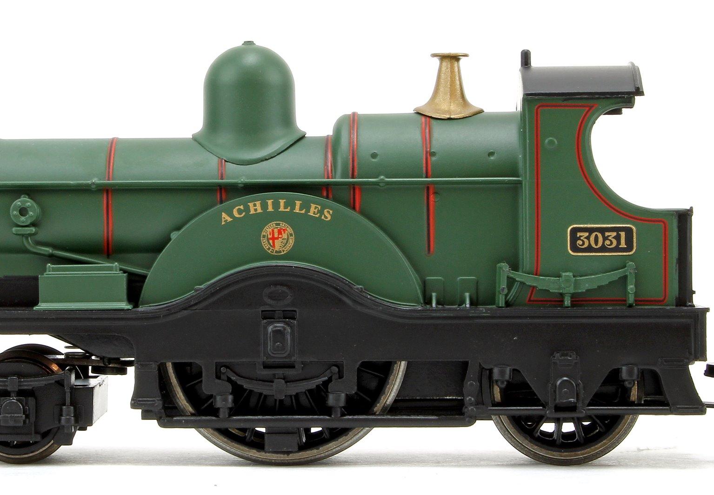 'Achilles' GWR Green Dean Single Class 4-2-2 Steam Locomotive No.3031