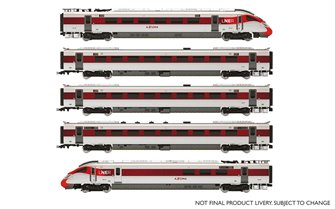 LNER, Hitachi IEP Bi-Mode Class 800/1, 'Azuma' Five Car Train Pack