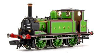 LSWR Green Terrier 0-6-0 Tank Locomotive No.735  DCC Fitted