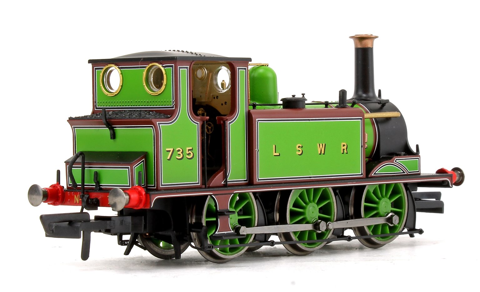 LSWR Green Terrier 0-6-0 Tank Locomotive No.735