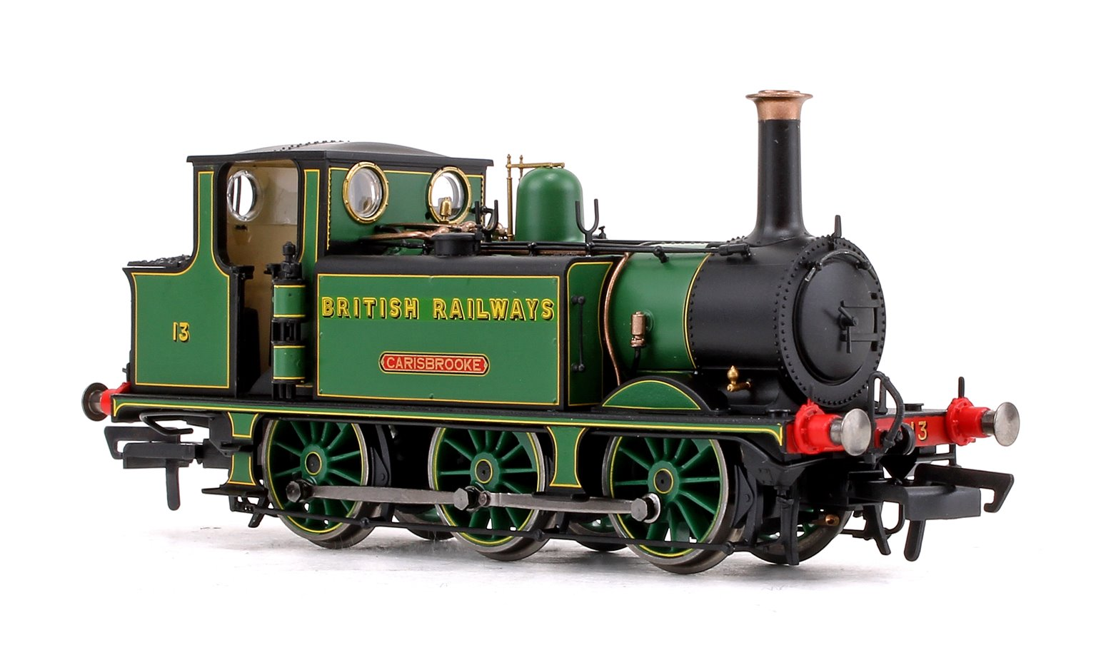 'Carisbrooke' British Railways Transitional 0-6-0 Terrier Locomotive No.13 DCC Fitted