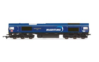 DB Cargo UK, Class 66, Co-Co, 66047 'Maritime Intermodal Two'