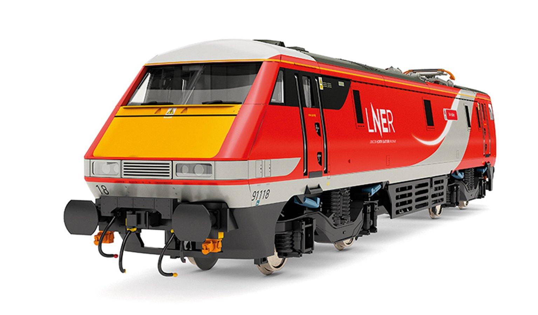 Class 91 118 'The Fusiliers' LNER Bo-Bo Electric Locomotive