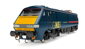 Class 91 117 'Cancer Research UK' GNER Bo-Bo Electric Locomotive