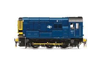 BR Blue Class 08 0-6-0 Diesel Shunter No.3817 DCC TTS Sound