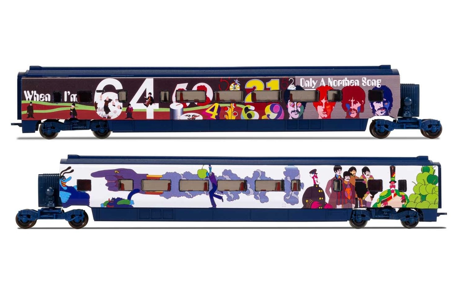 Eurostar, Class 373/1 Beatles 'Yellow Submarine' Divisible Centre Saloons Coach Pack