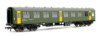 BR Departmental, ex-Mk1 SK Ballast Cleaner Train Staff Coach, DB 975805