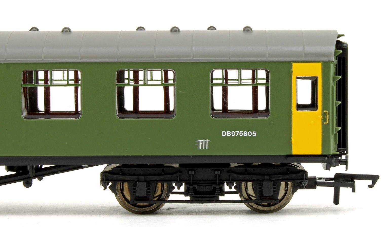 BR Departmental, ex-Mk1 SK Ballast Cleaner Train Staff Coach, DB 975805
