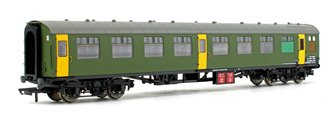BR Departmental, ex-Mk1 SK Ballast Cleaner Train Staff Coach, DB 975802