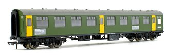 BR Departmental, ex-Mk1 SK Ballast Cleaner Train Staff Coach, DB 975804
