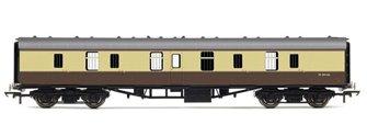 RailRoad BR Chocolate & Cream Mk1 Parcels Coach