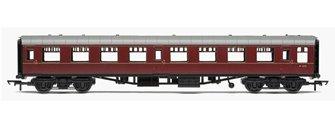 RailRoad BR Mk1 Second Open Coach - BR Maroon
