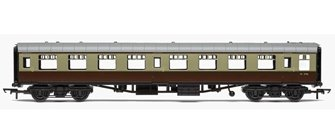 RailRoad BR Mk1 Tourist Second Open Coach - BR Chocolate & Cream