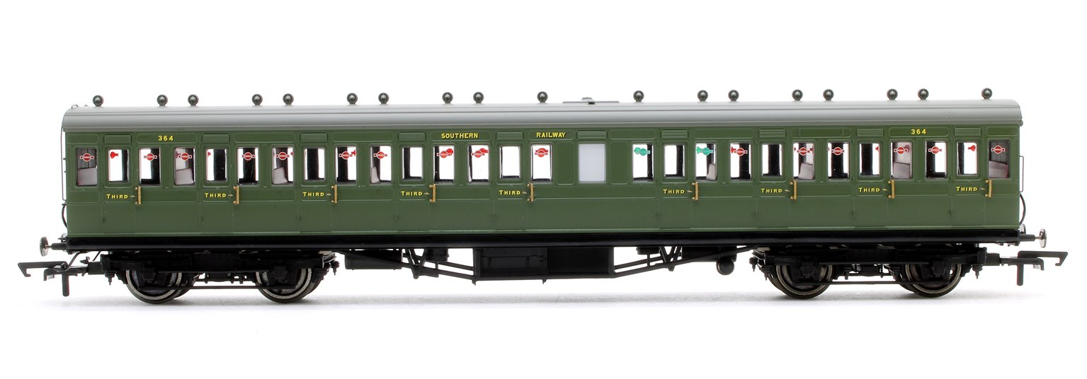 SR, 58' Maunsell Rebuilt (Ex-LSWR 48'), Nine Compartment Third, 364