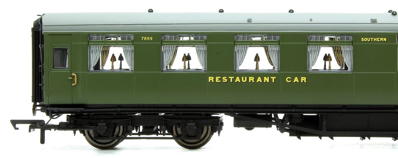 SR Green Maunsell Kitchen/Dining First Coach No.7869
