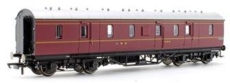 LMS Stanier Period III 50' Gangwayed Passenger Brake No.31010
