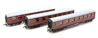LMS 'Coronation Scot' 3 Car Coach Pack