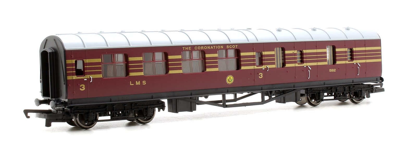 LMS 'Coronation Scot' 3 Car Coach Pack