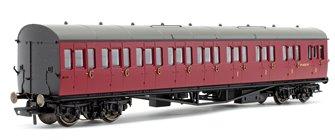 BR Collett 57' Bow Ended E131 Nine Compartment Composite (Left Hand) W6630W - Era 4