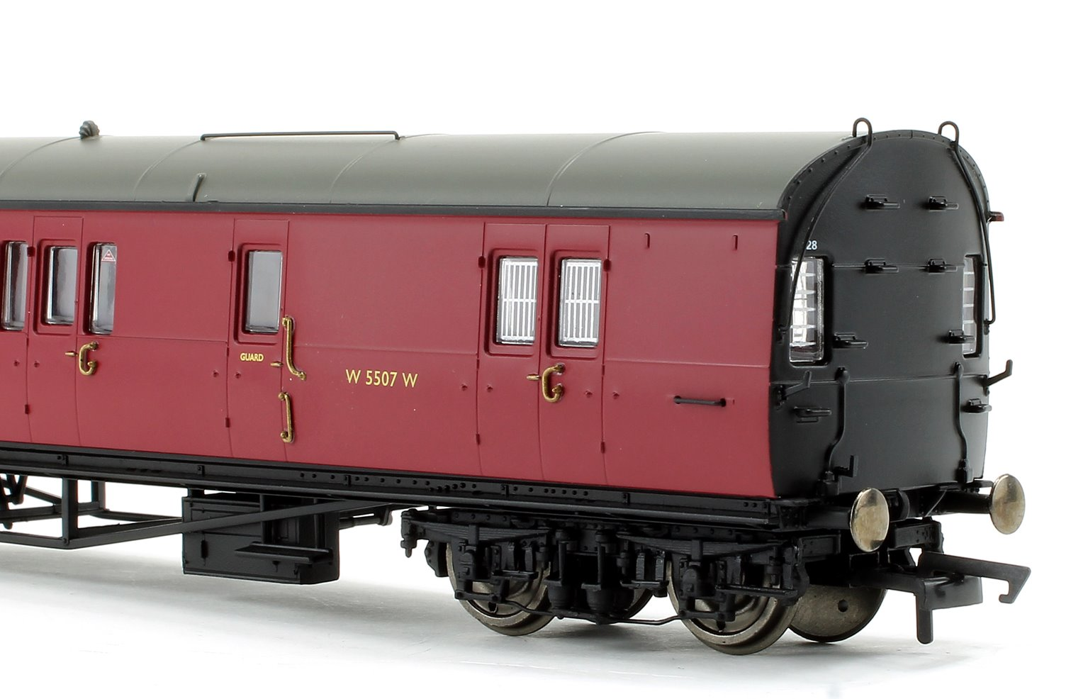BR Collett 57' Bow Ended D98 Six Compartment Brake Third (Left Hand) W5507W - Era 4