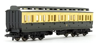 GWR Clerestory Composite Third Class Coach No.5008