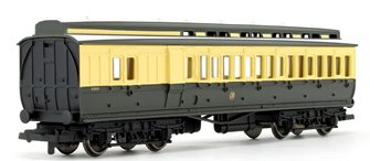 GWR Clerestory Brake Third Class Coach No.5089