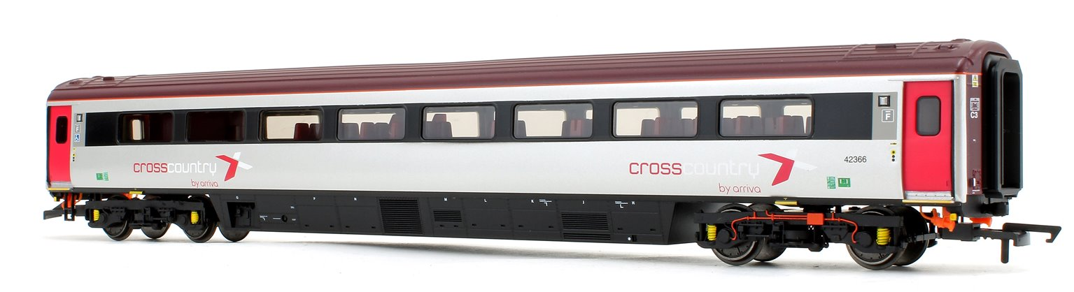 Cross Country Trains by Arriva Mk3 Sliding Door TSD Trailer Standard (Disabled) No.42366