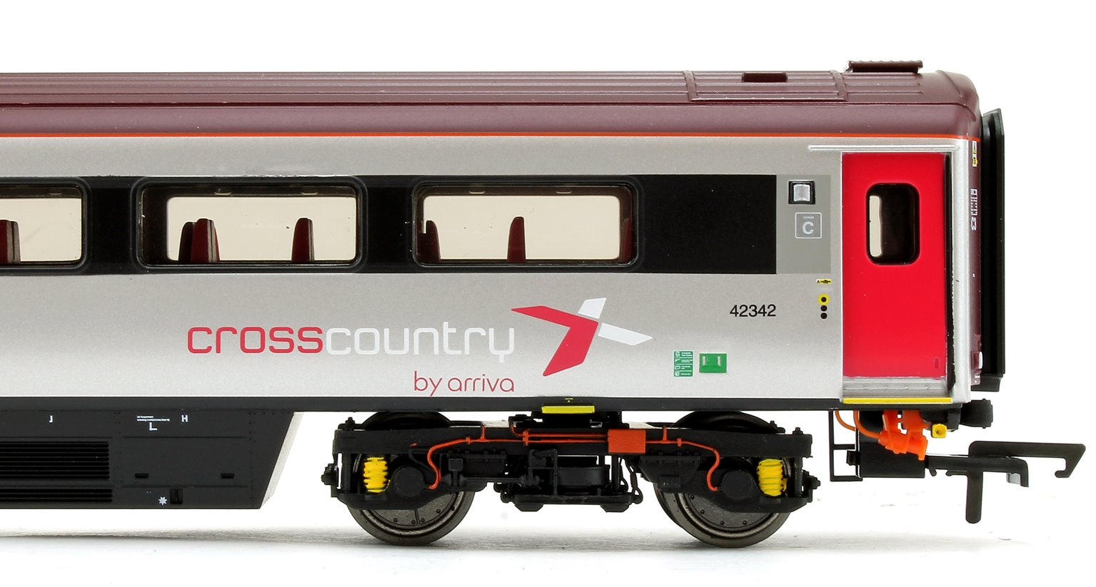 Cross Country Trains by Arriva Mk3 Sliding Door TS Trailer Standard No.42342
