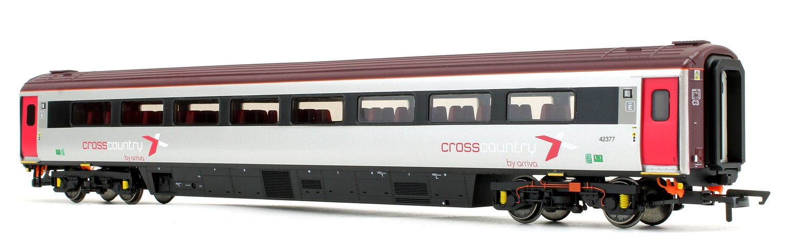 Cross Country Trains by Arriva Mk3 Sliding Door TS Trailer Standard No.42377
