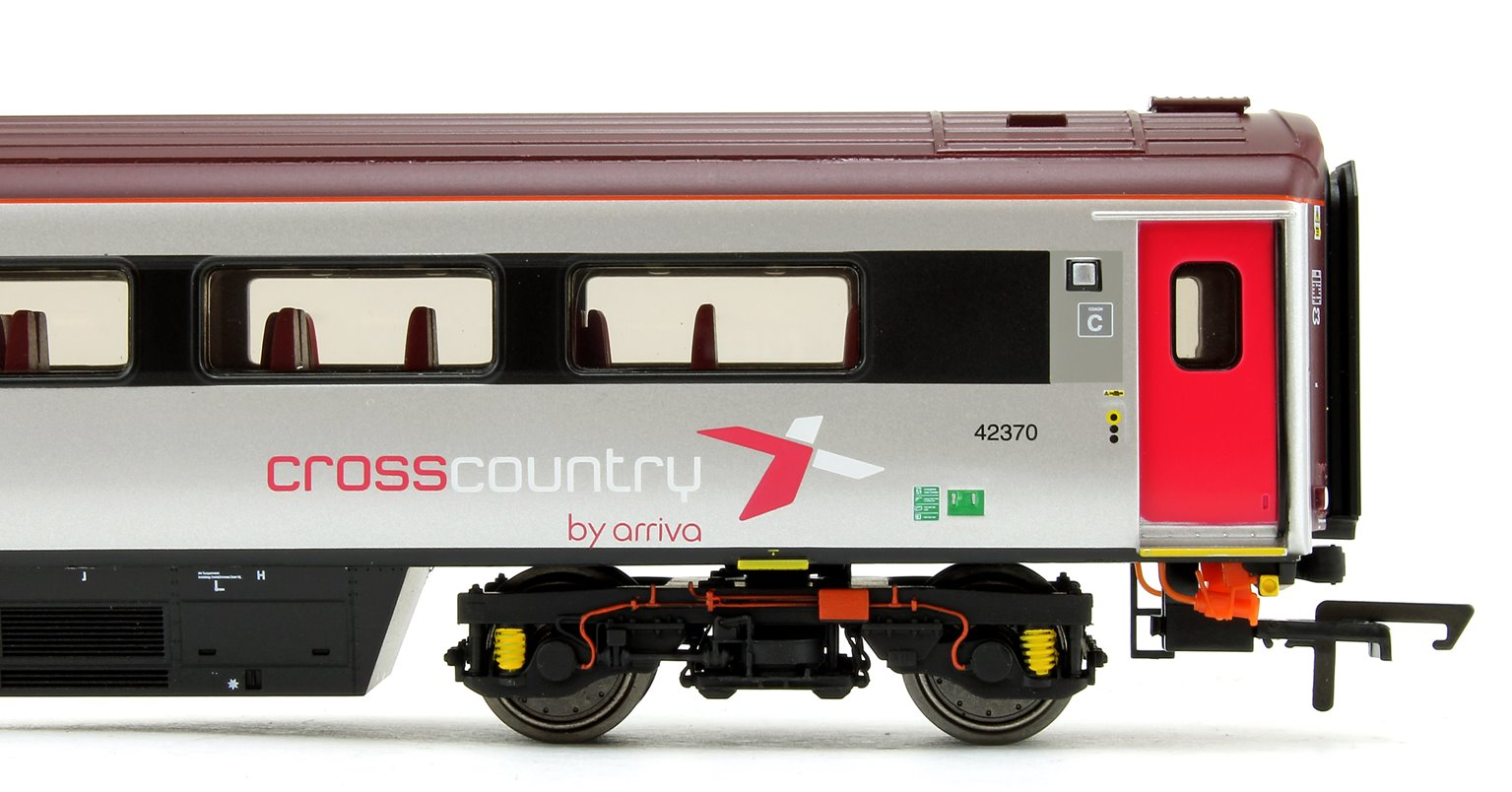Cross Country Trains by Arriva Mk3 Sliding Door TS Trailer Standard No.42370