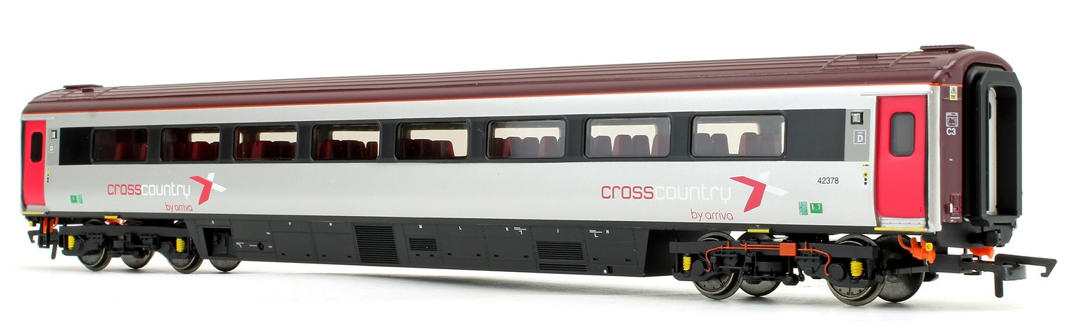 Cross Country Trains by Arriva Mk3 Sliding Door TS Trailer Standard No.42378