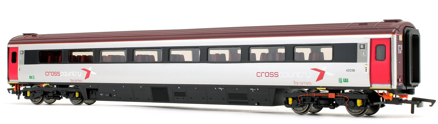 Cross Country Trains by Arriva Mk3 Sliding Door TS Trailer Standard No.42036