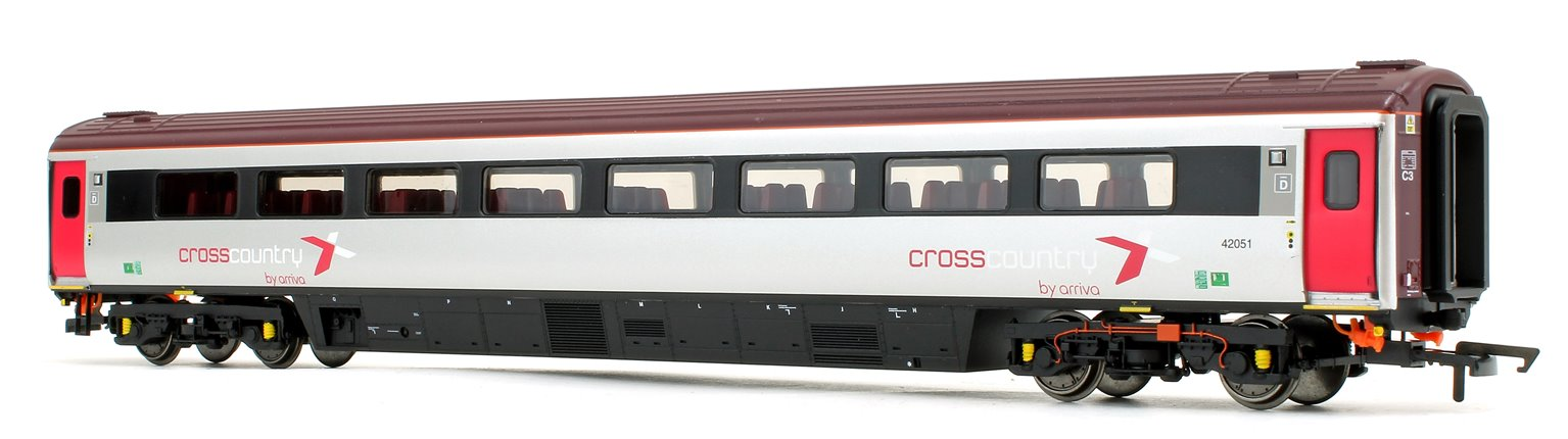 Cross Country Trains by Arriva Mk3 Sliding Door TS Trailer Standard No.42051