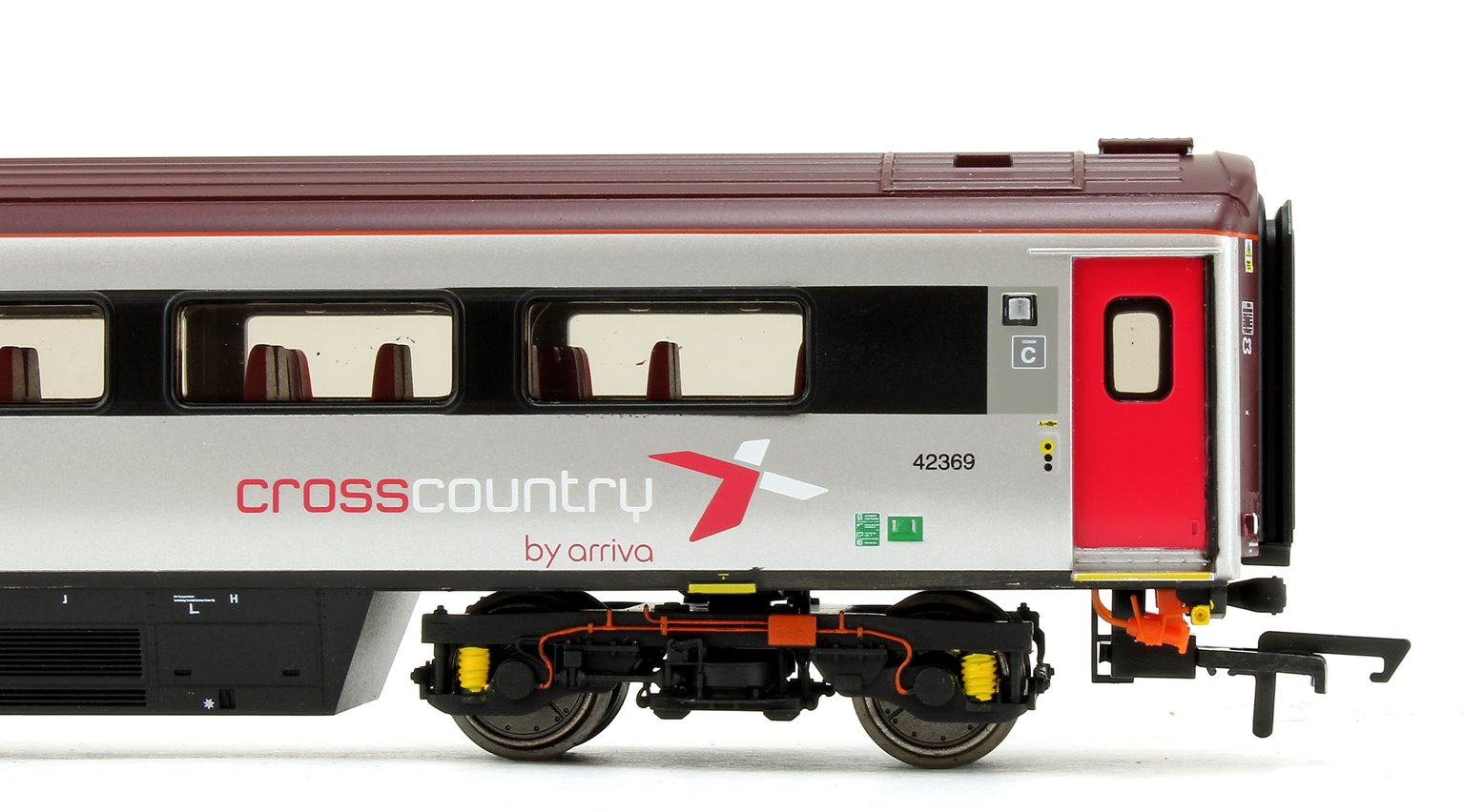 Cross Country Trains by Arriva Mk3 Sliding Door TS Trailer Standard No.42369