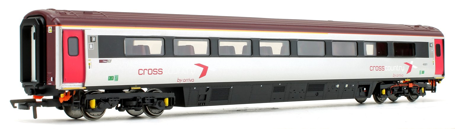 Cross Country Trains by Arriva Mk3 Sliding Door TCC Trailer Car Catering No.45001