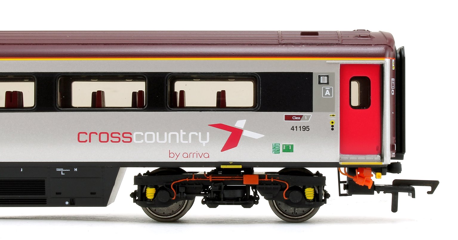 Cross Country Trains by Arriva Mk3 Sliding Door TFD Trailer First (Disabled) No.41195