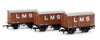 Pack of 3 LMS Box Vans
