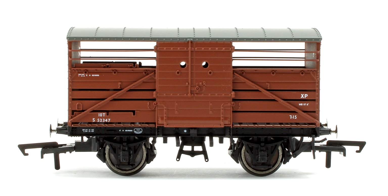 BR (exSR) 10 Ton Bullied Cattle Wagon 'S52347'