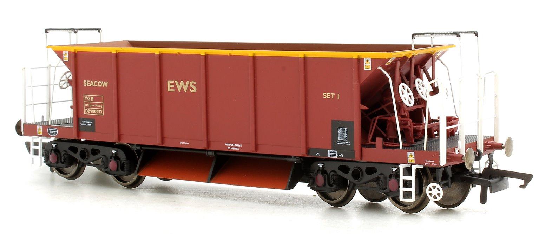 YGB 'Seacow' Bogie Ballast Hopper Wagon, EWS