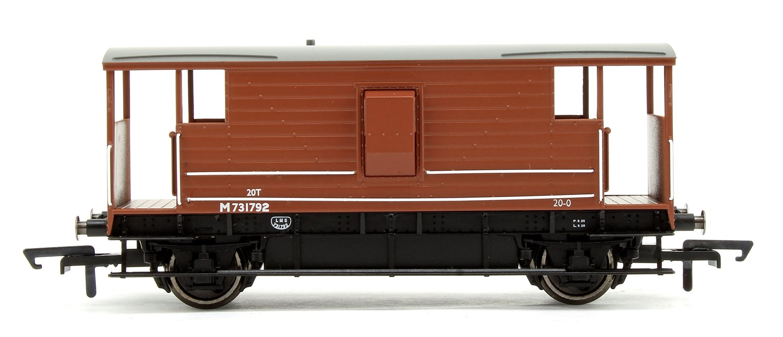 BR, D2068 20T Brake Van No.M731792