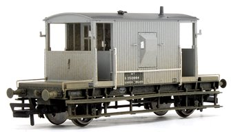 BR Grey 20T Brake Van B950884 (Weathered)
