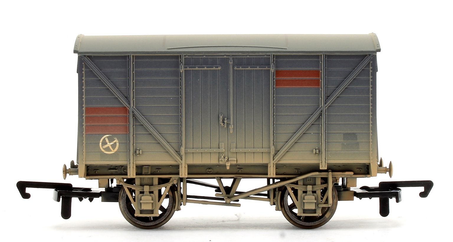 Heavily Weathered BR 10T Vent Van with TTS Sound