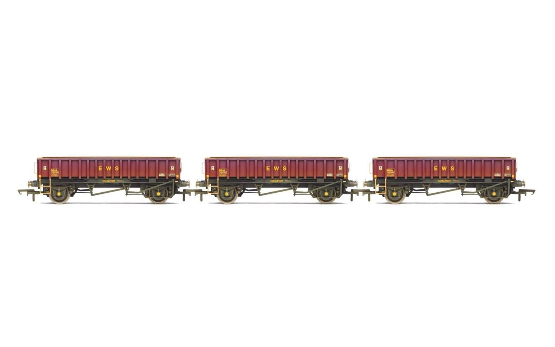 MHA 'Coalfish' Ballast wagon, Three Pack, EWS