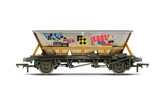 BR, HAA wagon with graffiti, 355855