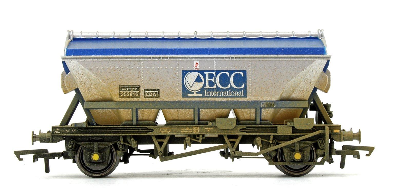 Set of Three ECC, CDA Hopper Wagons (Weathered Edition)