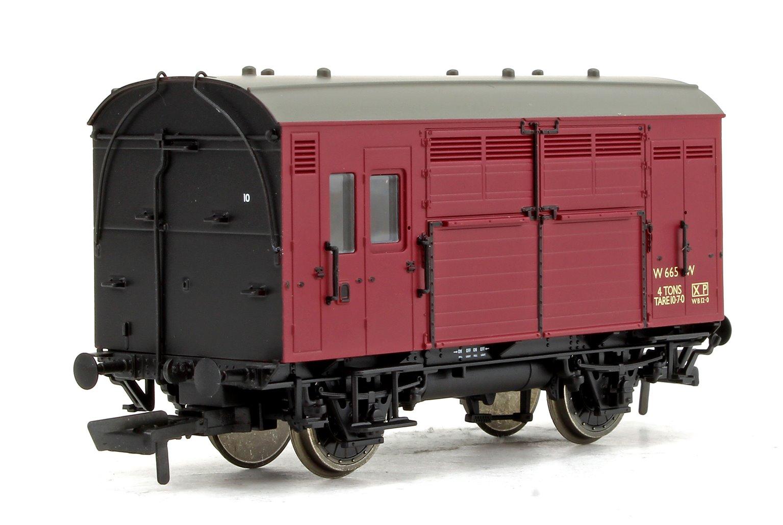 BR (Ex GWR) Horse Box No.W665