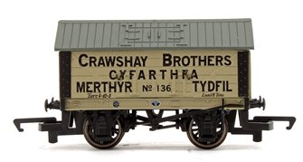 'Crawshay Brothers' 8T Lime Wagon No.136