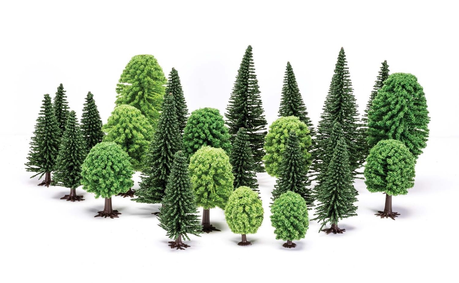 Hobby' Mixed (Deciduous and Fir) Trees
