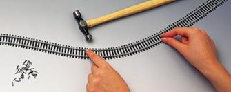 10x Lengths of Semi-Flexible Track
