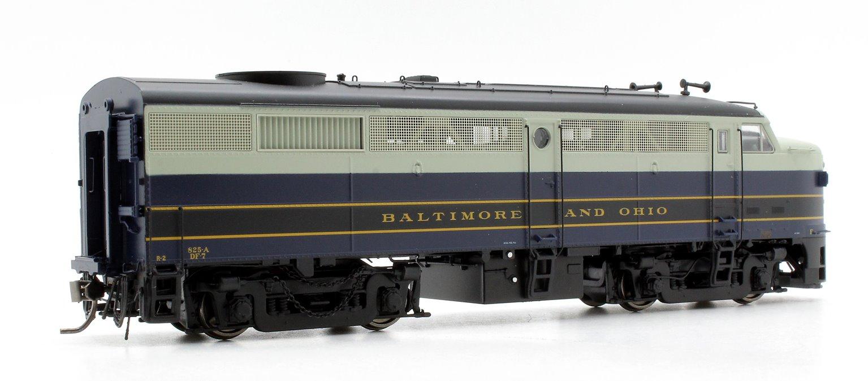 Alco/MLW FA-2 Locomotive - B&O 1956 Scheme #825 - DC/Silent